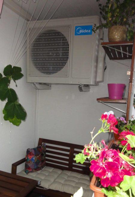 Instalacia klimatizacie u zakaznika vonkajsia jednotka 450x659 1